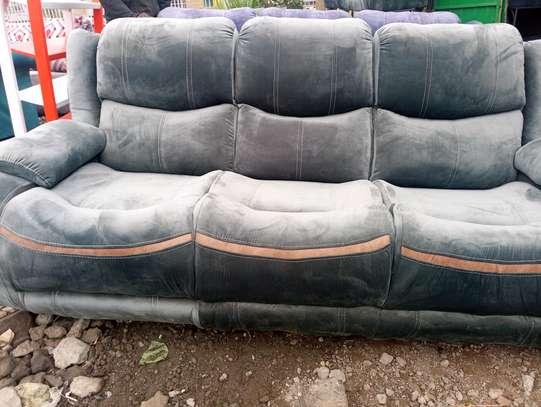 3 Seater Recliner design sofa/Comfy Sofa design image 1