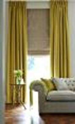 plain curtains to image 1