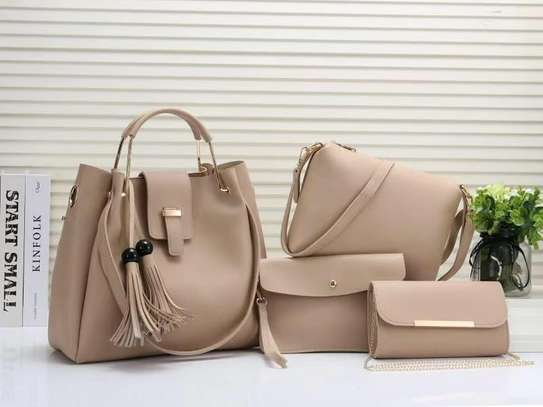 4 in 1 Wonderful classic ladies handbags