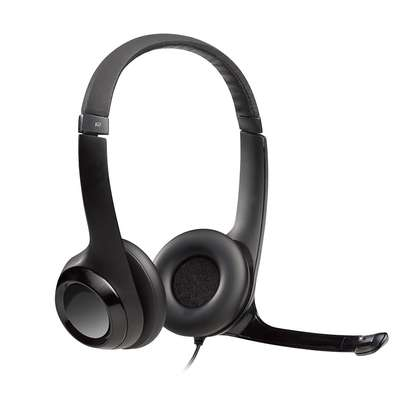 Logitech H390 USB Computer Headset With Enhanced Digital Audio And In-Line Controls image 1