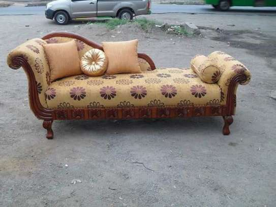 Antique 3  seater Sofa beds. image 2