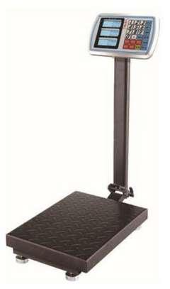 Digital Scale 300kg Reinforced Floor Platform image 1