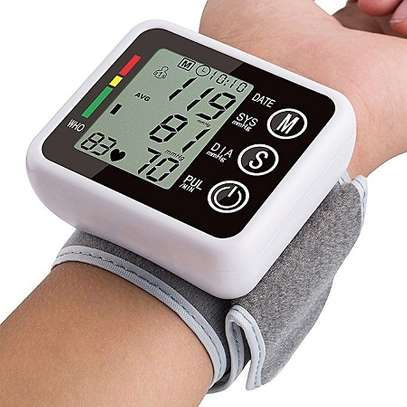 Wrist Blood Pressure Monitor image 1