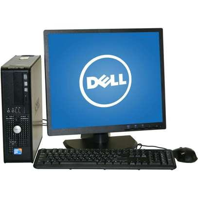 FULL DELL/HP DUAL CORE SFF DESKTOP TOWER PC & TFT COMPUTER SYSTEM WINDOWS 10 image 2