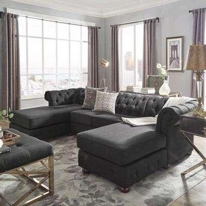 Eight seater grey chesterfield sofa/sofas for sale in Nairobi Kenya/sofas and sectionals kenya/best Furniture stores in Nairobi Kenya image 1