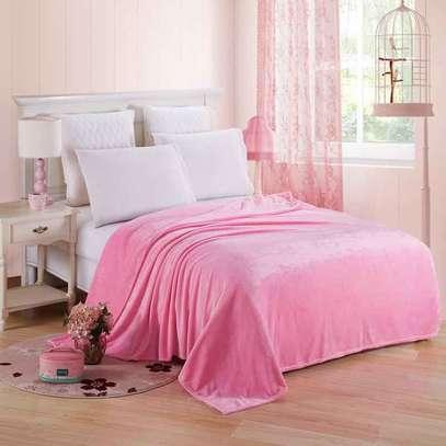 Orange fleece blanket image 4