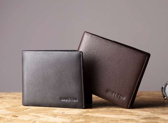 Brown Leather Wallets image 1