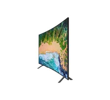 65 inch Samsung Smart Ultra HD 4K Curved LED TV - Model UA65NU7300K - New 2018 image 1