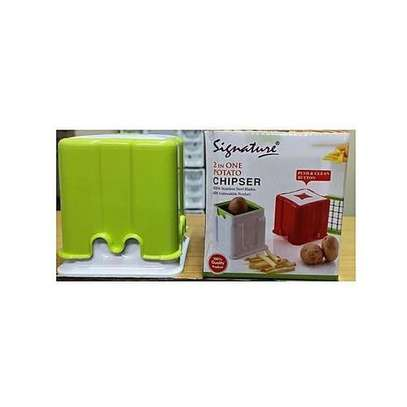 Signature 2 In 1 Potato Chipser/Chips Cutter/pineapple Peeler image 2