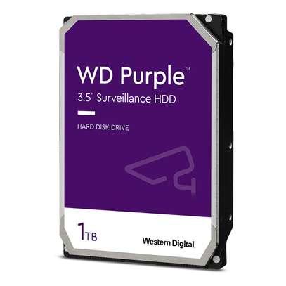 WD Purple Surveillance Hard Drive image 1