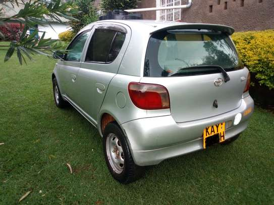 Toyota vitz used by a Senior citizen