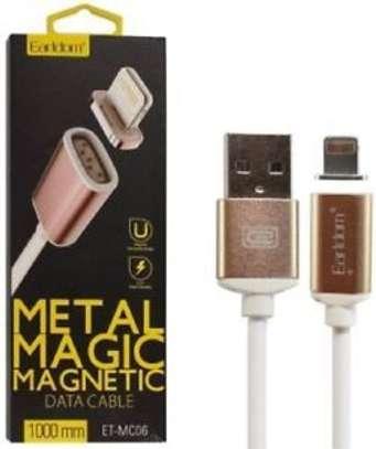 Earldom ET MC04 2 In 1 Metal Magic Magnetic Data Cable Type C - 1M image 3