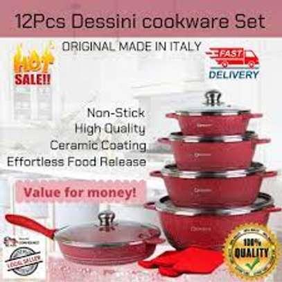 Unique Quality 12 Pc Granite Non Stick Cooking Pot image 2