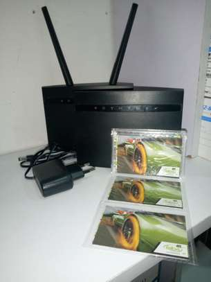 4G Universal Faiba and all simcards wifi router image 1