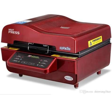 Multi-functional 3D Sublimation Vacuum Heat Press Machine image 1