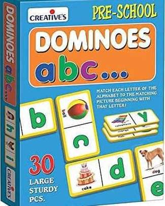 Dominoes ABC Game