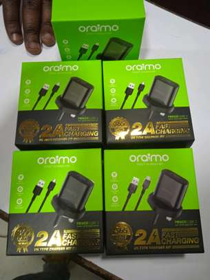 Fast Chargers, Original Oraimo Complete Chargers(normal and Type C) image 1