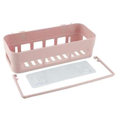 Multi-functional Bathroom Storage Rack Holder Towels Rack Shaver Tooth Brush Dispenser Bathroom Organizer Accessories image 2