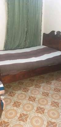 5*6 wooden bed