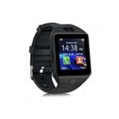 Generic DZ09 Smart Watch Phone for Android and Apple With Free Power Bank 5600mAh - Black image 2