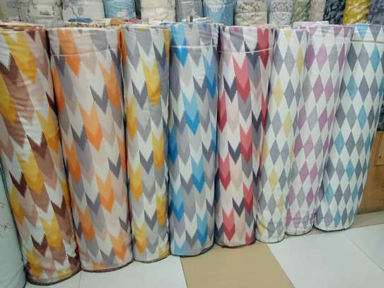 100% Polyester Textile Fabric Curtains And Sheers image 8