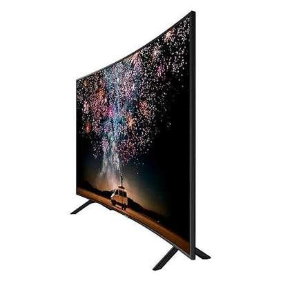 Samsung 55 Inch Curved Smart 4K UHD TV -55RU7300 - Series 7 - Black image 1