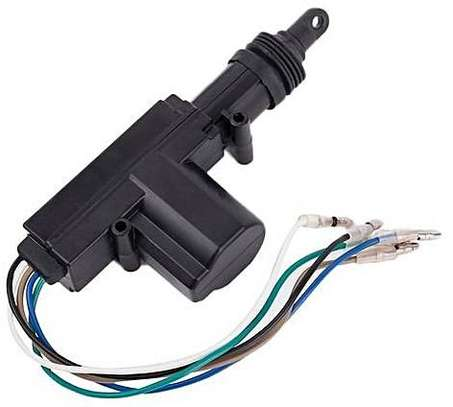 Generic Car Central Locking System 5 Wire Automatic Power Door Lock Actuator Motor Black. image 1