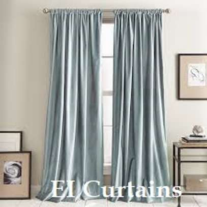 Heavy cotton curtains image 5