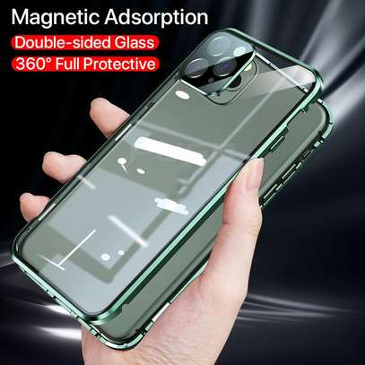 Magnetic Double-sided 360 Full Protection Glass Case for iPhone 11/11 Pro 11 Pro Max image 12