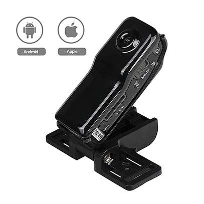 World Smallest HD Nanny Camera With Live Stream Over Web And Smart Phones -Black image 6