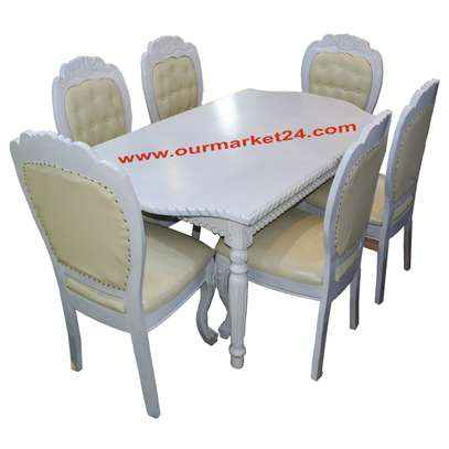 Dinning Table 6 chair image 1