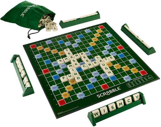 Scrabble board image 1
