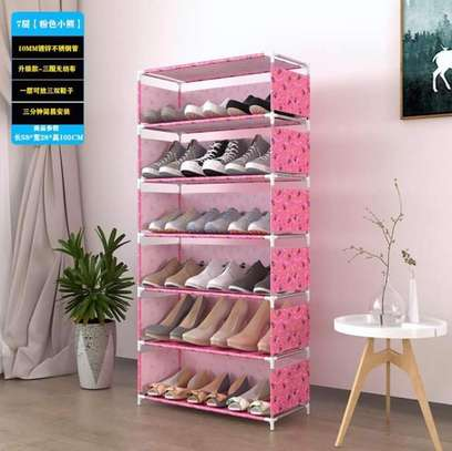 21 pairs Shoe racks image 1