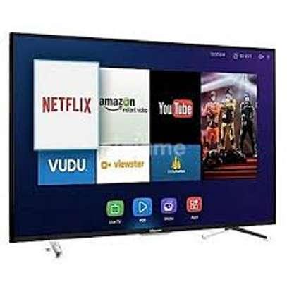 Hisense New 65 inches Smart UHD-4K Frameless Digital TVs image 1