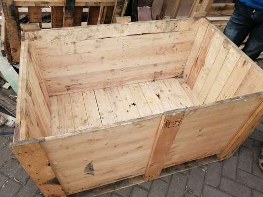 WOODEN BOX CRATE image 3
