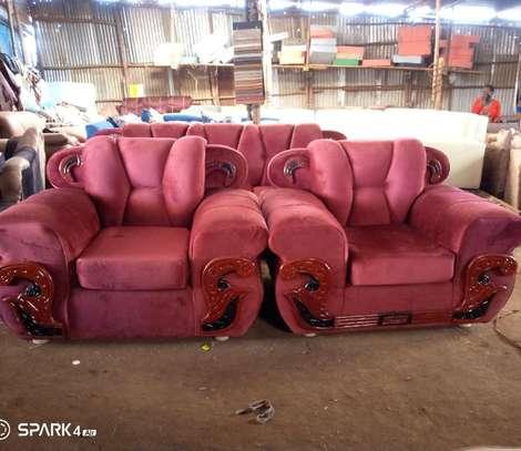 5-Seater Benz Sofa Set image 1