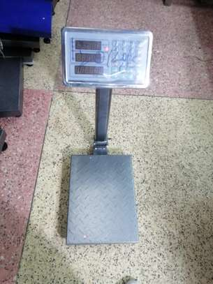 tcs electronic platform scale 300kg small industrial digital scale image 1