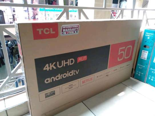 TCL 50 inch 4K Android Tv