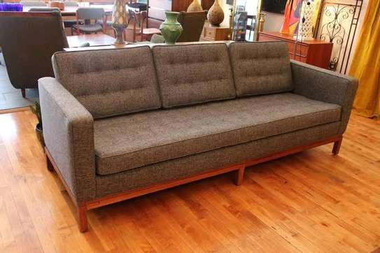 Handsome Tufted Quality 3 Seater Sofa image 1