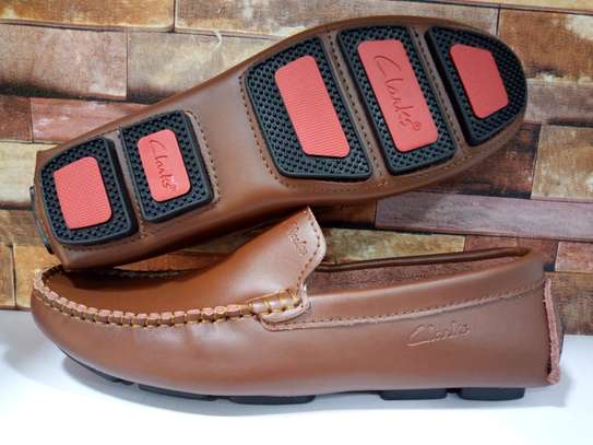 Pure leather loafers