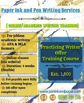 Academic Writing Training. image 3