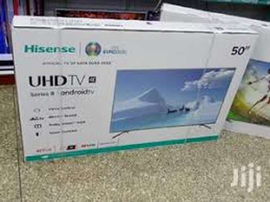 Hisense 50 Inch 4K Android Smart Tv Series 8 image 1