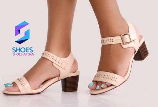 Quality Chunky Heels image 5