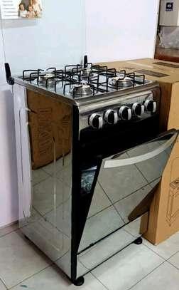 Silver 4burner Gas Oven image 1
