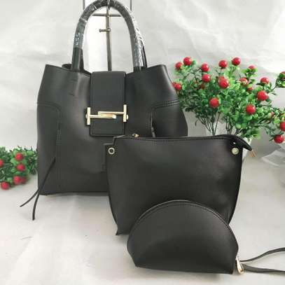 3 in 1 Leather Handbags image 5