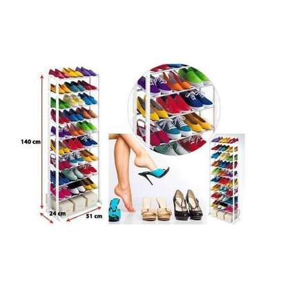 Amazing 10 layer shoe rack For 30 Pairs image 2