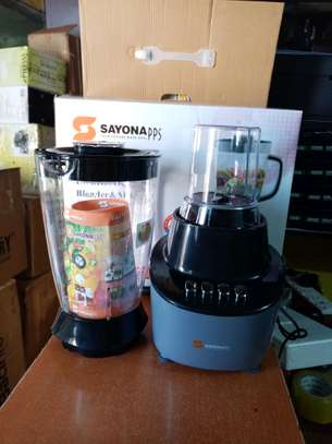 2 in 1 Sayona Unbreakable Blender and Mill 2 in 1 blender with Grinder