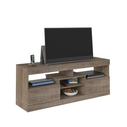 TV Stand Rack ( Texas Rack - Canela ) - Up to 47 Inch TV Space image 2