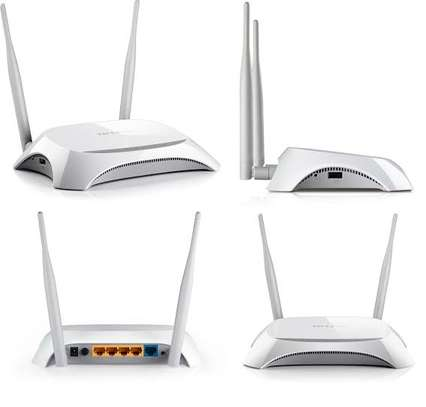 Tp-Link Wireless Router (TL-MR3420)
