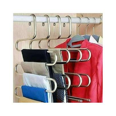 METALLIC TROUSER HANGER 3PCS image 1